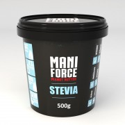 Pasta de Amendoim Integral (500g) Mani Force Stevia