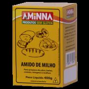 Amido de Milho Sem Glúten - 400g - Aminna