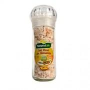 Sal Rosa do Himalaia Grosso Com Limão - Embalagem com Moedor - 100g - Natural Life