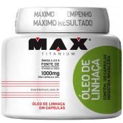 Óleo de Linhaça (100 Cáps) Max Titanium