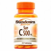 Vitamina C - Sun C 500mg (30 Tabletes) - Sundown