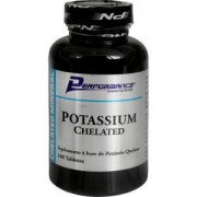 Potassium Chelated 100 Tabletes - Performance Nutrition