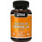 Levedo de Cerveja + Cálcio (200 Tabs) DNA Nutrition