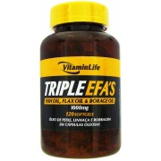 Triple EFAS 120 Cápsulas - VitaminLife