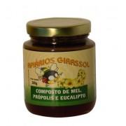 Composto de Mel Própolis e Eucalipto - 300g - Apiários Girassol