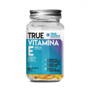 True Vitamina E - 100 cápsulas - True Source