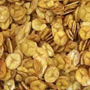 Banana Chips Com Salgada