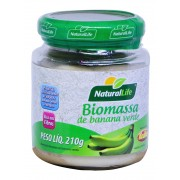 Biomassa de Banana Verde - 210g - Natural Life