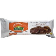 Biscoito Termogênico de Canela - Sem Glúten - Cobertura de Chocolate Meio Amargo - 140g - Natural Life