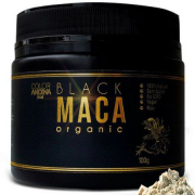 Black Maca Organic - 100g - Color Andina food