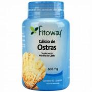Cálcio de Ostra (60 Cáps) Fitoway
