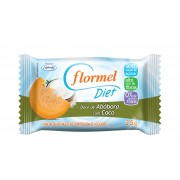 Doce de Abóbora c/ Coco - Diet (25g) - Flormel