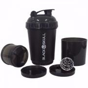 Coqueteleira Blender 3 estágios (600ml) Black Skull