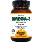 Omega 3 1000mg - 50 Cápsulas - Country Life