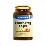 Cranberry - 60 cápsulas de 500 mg - Vitaminlife