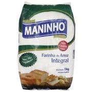 Farinha de Arroz Integral - 1kg - Maninho