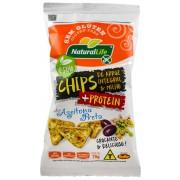 Chips de Arroz Integral e Milho Sabor Azeitona Preta Sem Glúten - 70g - Natural Life