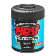 Pasta de Amendoim com Whey Protein First (500g) Santa Helena