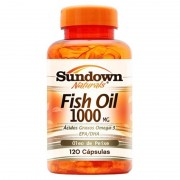 Fish Oil 1000mg - 120 Cápsulas - Sundown