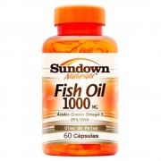 Fish Oil 1000mg - 60 Cápsulas - Sundown