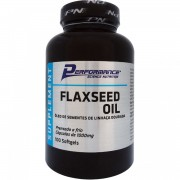 Flaxseed Oil 1000mg 100 Softgels - Performance Nutrition