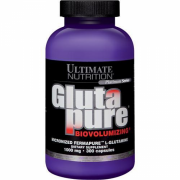 Glutapure Biovolumizing (300 Cáps) Ultimate Nutrition