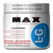 L-G Glutamina (300g) Max Titanium