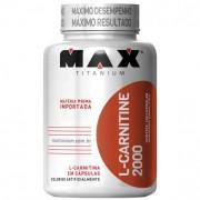 L- Carnitine 2000 (120 Cáps) Max Titanium
