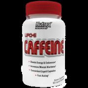 Lipo-6 Caffeine - 60 Cápsulas - Nutrex