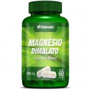Magnésio - 60 cápsulas, 500mg - Herbamed