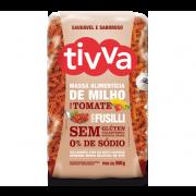 Massa Alimentícia de Milho com Tomate Tipo Fusilli (500g) Tivva