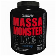 Massa Monster Black (3kg) Probiótica