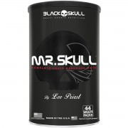 Mr. Skull (44 Packs) Black Skull