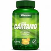 Óleo de Cártamo - 120 cápsulas, 1000mg - Herbamed