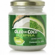 Óleo de coco extra virgem com sabor - 200ml - Copra