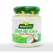 Óleo de Coco Extra Virgem - 200ml - Natural Life