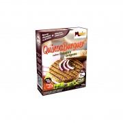 QuinoaBurguer sabor Cebola e Orégano em pó - 100g contém 2 sachês de 50g - Manioc