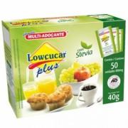Adoçante Stévia Plus (50 Sachês) - Lowçúcar