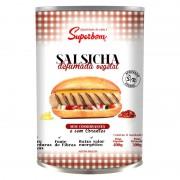 Salsicha Defumada Vegetal - 400g - Superbom