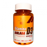 Vitamina D3 Isolada - 60 cápsulas - Health Labs