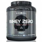 Whey Zero 2KG (5 lbs) Black Skull