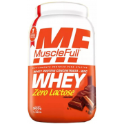 Whey Protein Concentrado Zero Lactose - 900g - Muscle Full