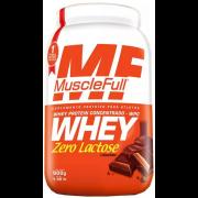 Whey Protein Concentrado Zero Lactose - 900g - Muscle Full
