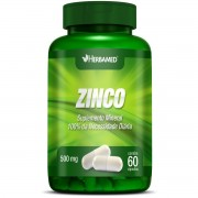 Zinco - 60 cápsulas, 500mg - Herbamed