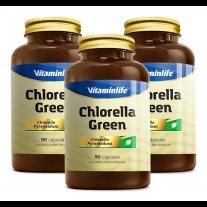 Chlorella Green 90 Cápsulas - VitaminLife
