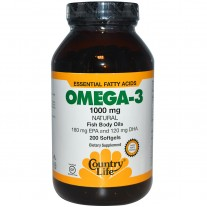 Omega 3 1000mg 100 Cápsulas - Country Life