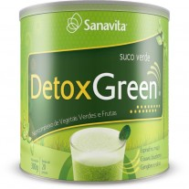 Detox Green (300g) Sanavita