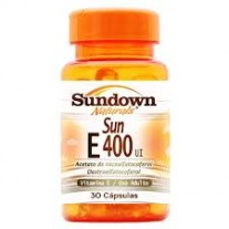 Vitamina E - Sun E 400 UI (30 Cápsulas) - Sundown