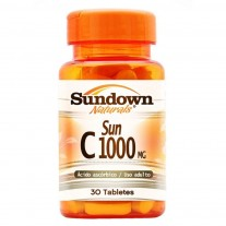 Vitamina C - Sun C 1000mg (30 Tabletes) - Sundown