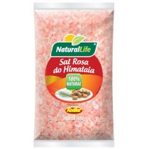 Sal Rosa do Himalaia Grosso - 500g - Natural Life